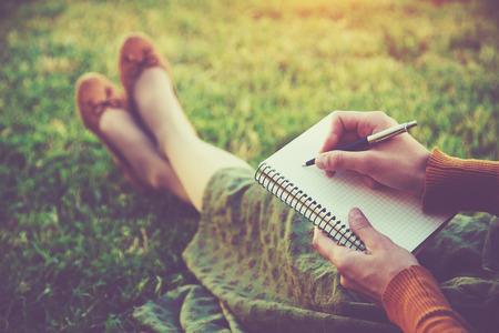 Les bienfaits de l'écriture